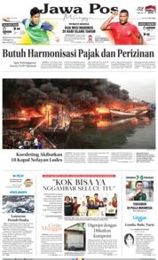 Cover Jawa Pos 24 Februari 2019