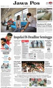 Cover Jawa Pos 13 Maret 2019