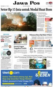 Cover Jawa Pos 15 Maret 2019