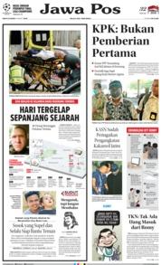 Cover Jawa Pos 16 Maret 2019