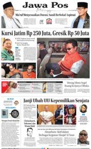 Cover Jawa Pos 17 Maret 2019