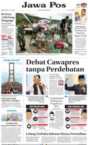 Cover Jawa Pos 18 Maret 2019