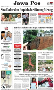 Jawa Pos Cover 19 March 2019