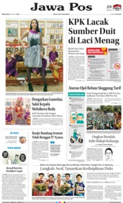 Jawa Pos Cover 20 March 2019