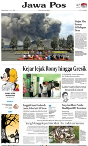Jawa Pos Cover 21 March 2019