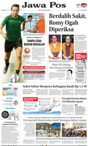 Jawa Pos Cover 22 March 2019