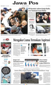 Jawa Pos Cover 23 March 2019
