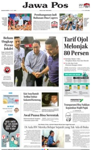 Jawa Pos Cover 26 March 2019