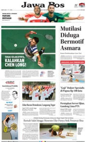 Cover Jawa Pos 06 April 2019