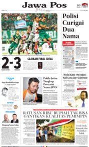 Cover Jawa Pos 07 April 2019