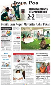 Cover Jawa Pos 10 April 2019