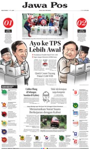 Cover Jawa Pos 17 April 2019