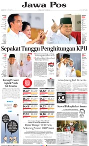 Cover Jawa Pos 18 April 2019