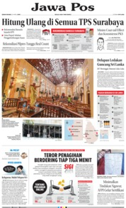 Jawa Pos Cover 22 April 2019