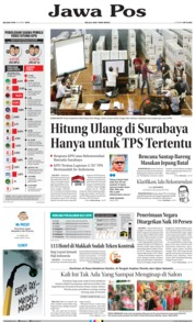 Cover Jawa Pos 23 April 2019