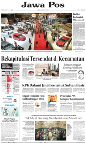 Jawa Pos Cover 26 April 2019
