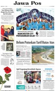 Cover Jawa Pos 13 Mei 2019