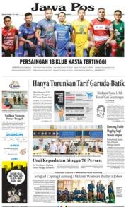 Cover Jawa Pos 14 Mei 2019