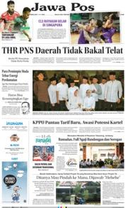 Cover Jawa Pos 16 Mei 2019