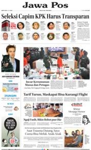 Cover Jawa Pos 18 Mei 2019
