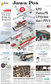 Jawa Pos Cover 19 May 2019