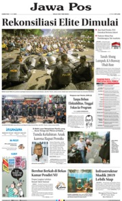 Jawa Pos Cover 23 May 2019