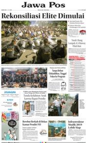 Cover Jawa Pos 23 Mei 2019