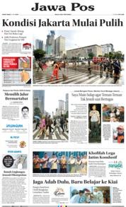 Cover Jawa Pos 24 Mei 2019