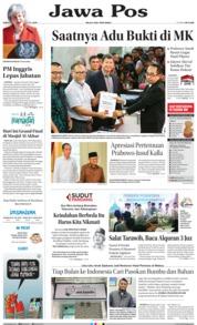 Cover Jawa Pos 25 Mei 2019