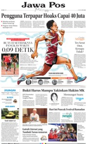 Jawa Pos Cover 26 May 2019