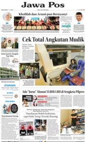 Cover Jawa Pos 27 Mei 2019