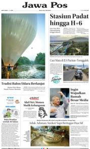 Cover Jawa Pos 08 Juni 2019