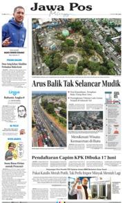 Cover Jawa Pos 09 Juni 2019