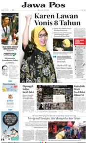 Cover Jawa Pos 11 Juni 2019