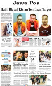 Cover Jawa Pos 12 Juni 2019