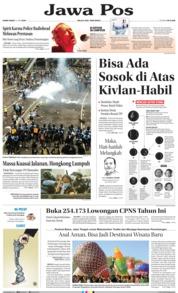 Cover Jawa Pos 13 Juni 2019