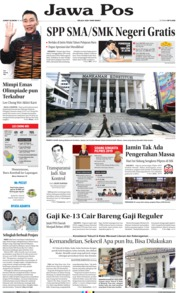 Cover Jawa Pos 14 Juni 2019