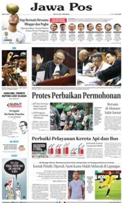 Cover Jawa Pos 15 Juni 2019