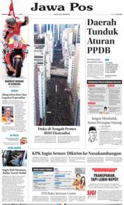 Cover Jawa Pos 17 Juni 2019