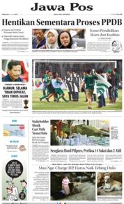 Cover Jawa Pos 20 Juni 2019