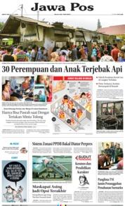 Cover Jawa Pos 22 Juni 2019