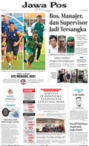 Cover Jawa Pos 23 Juni 2019