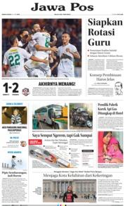 Cover Jawa Pos 24 Juni 2019