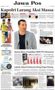 Cover Jawa Pos 26 Juni 2019