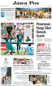 Jawa Pos Cover 02 July 2019