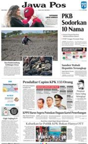 Jawa Pos Cover 03 July 2019