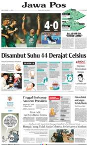 Jawa Pos Cover 06 July 2019
