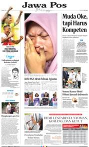 Jawa Pos Cover 07 July 2019