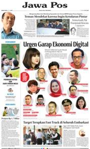 Jawa Pos Cover 08 July 2019