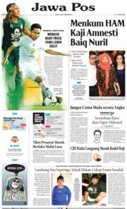 Jawa Pos Cover 09 July 2019